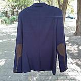 Школьный костюм двойка для мальчика синего цвета BOZER р. 152, фото 4