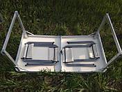 Стол для пикника Rainberg  усиленный с 4 стульями, фото 3