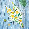 Купальник монокини с лимонами, фото 4