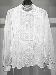 Блуза летняя с орнаментом Majes
