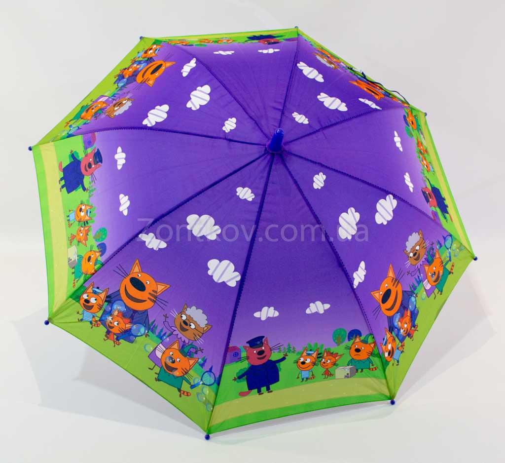 """Детский зонтик """"Три кота"""" от фирмы """"Mario"""""""