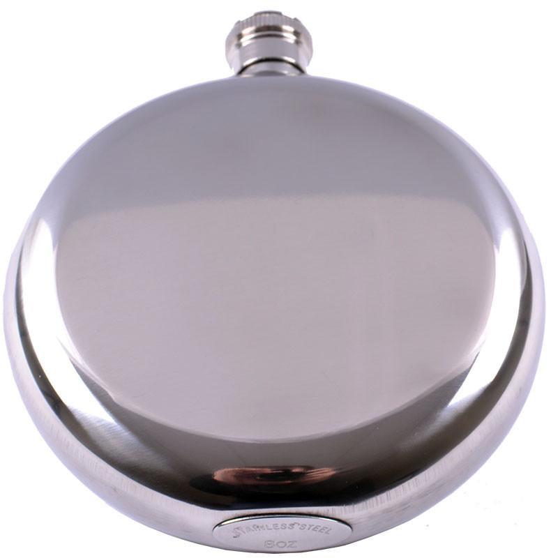 Фляга из пищевой нержавеющей стали (глянец/чистая)  MN-E