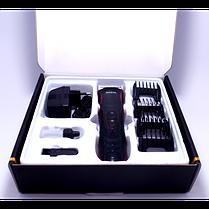 Машинка для стрижки волос ROZIA HQ-222T с керамическими лезвиями | Машинка для стрижки бороды, фото 2