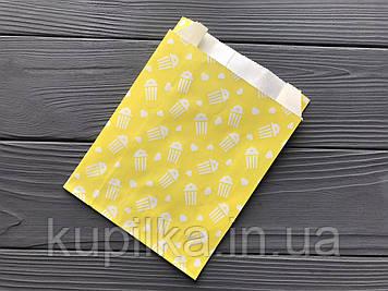 Бумажная упаковка для попкорна 909Ф