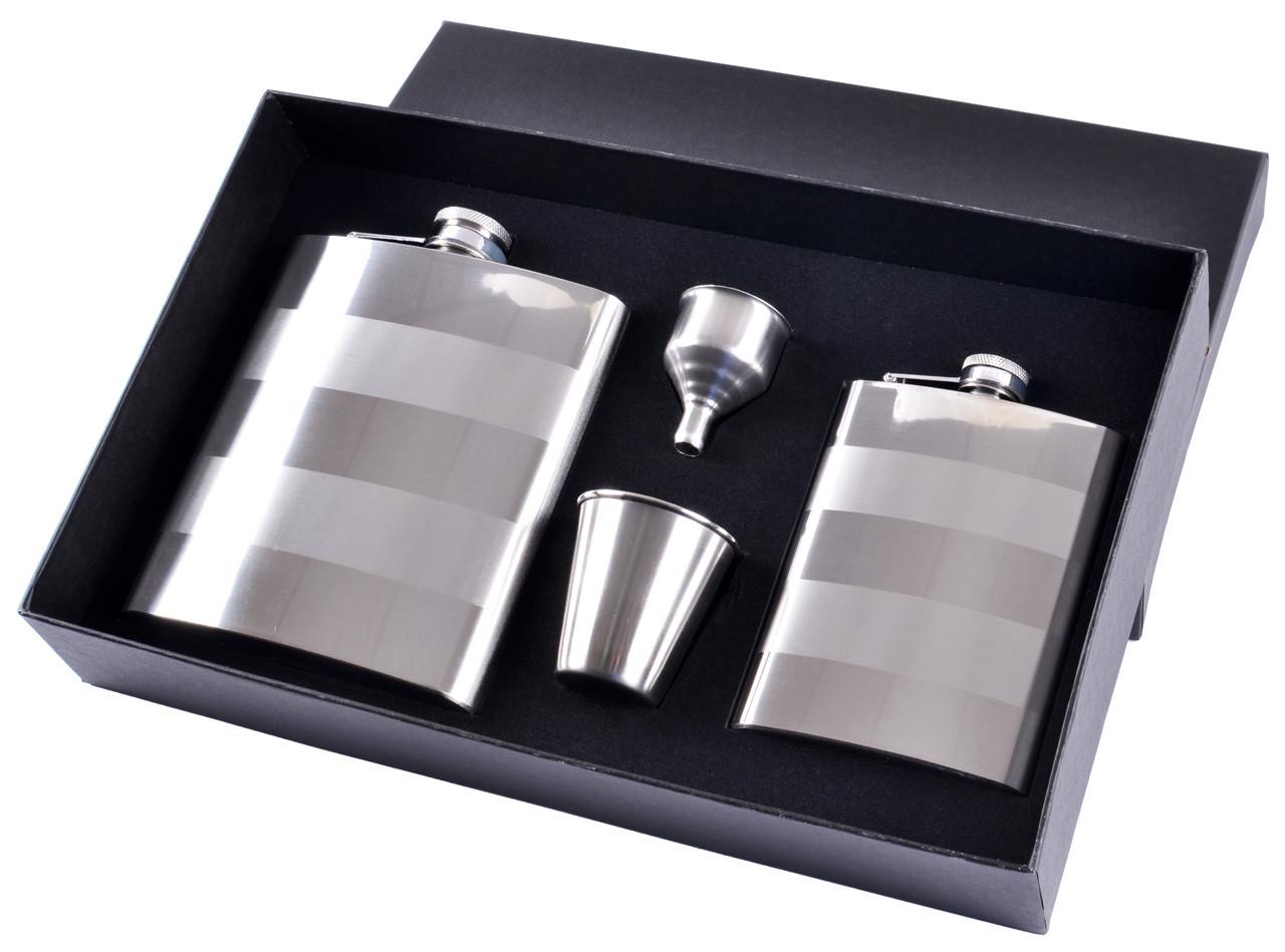 Подарочный набор фляга/лейка/ стопки №TZ-36-2