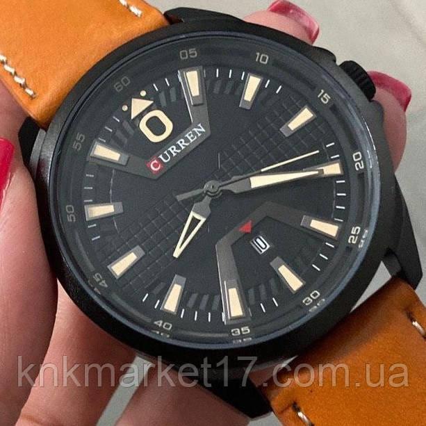 Curren 8379 Black-Brown