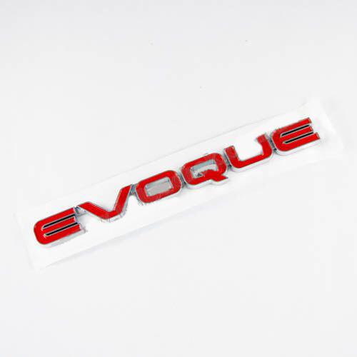 Эмблема надпись EVOQUE