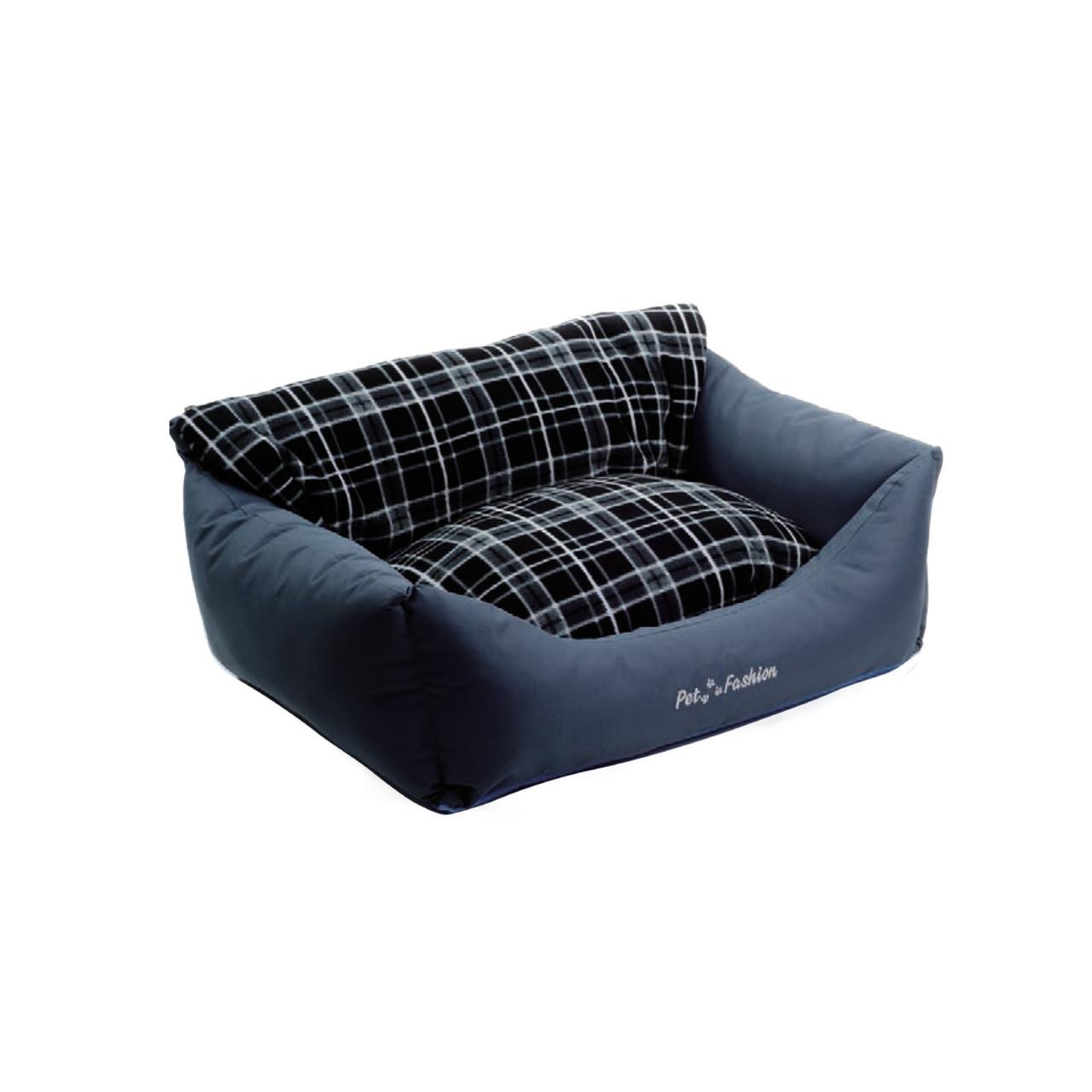"""Лежак  Pet Fashion """"Деми"""" для собак и кошек 66x52x24 см"""