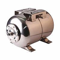 Гидроаккумулятор горизонтальный WOMAR (24 л), нержавейка