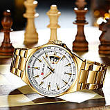 Curren 8375 Gold-White, фото 4
