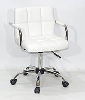Кресло для мастера, офиса Arno ARM ЭКО, белый