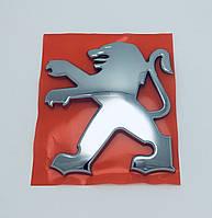 Эмблема решетки радиатора Peugeot 9см х 10см, фото 1