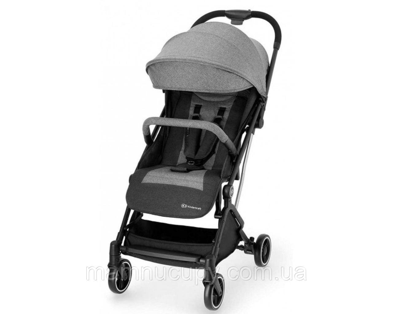 Детская прогулочная коляска Kinderkraft Indy Grey (Киндеркрафт Инди)