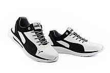 Мужские кроссовки кожаные весна/осень белые-черные CrosSAV 06 Escaper, фото 3