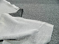 Ткань ангора-софт рубчик светло-серый меланж