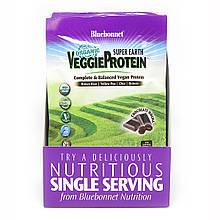 Органический растительный Протеин Bluebonnet Nutrition Super Earth Вкус Моккачино 8 пакетиков