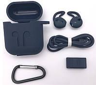 Чехол силиконовый DS Case для Apple AirPods/ AirPods 2 Black (34353233)