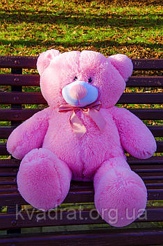 Плюшевий Ведмедик Пух 80 см Рожевий