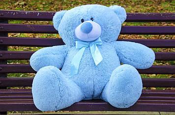 Плюшевий ведмедик Пух 80 см Блакитний