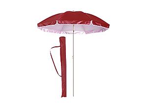Пляжный зонт с наклоном 2 м HMD Umbrella Anti-UV Бордовый (127-12522387)
