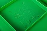 Дитяча гірка пластикова для будинку і дачі, пластмасова гірка спуск 3 м HAPRO зелена, фото 5