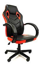 Кресло офисное комп'ютерное 7F RACER EVO, красное