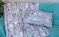 Одеяло детское ОДА | Теплое стёганное одеяло 140х110 | Ковдра дитяча | Детское одеяло с подушкой