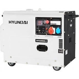 Генератор HYUNDAI DHY 6000SE-3 (5 кВт)