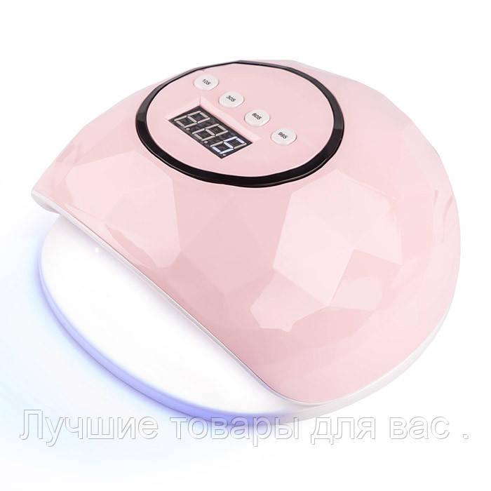 Лампа для манікюру LED SUN F5 72W (pink)