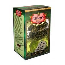 Gilbert's чай цейлонский зеленый с саусепом 100 грамм