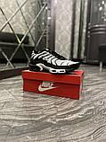 Чоловічі кросівки Nike Air Max TN White Black, фото 2