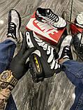Чоловічі кросівки Nike Air Max TN White Black, фото 7