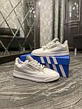 Чоловічі кросівки Adidas Brand With The 3 Stripes White Grey, фото 4