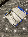 Чоловічі кросівки Adidas Brand With The 3 Stripes White Grey, фото 8