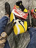 Чоловічі кросівки Nike Air Jordan 1 Mid Yellow Black, фото 6