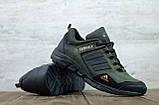 Мужские кожаные кроссовки Adidas, фото 2