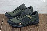 Мужские кожаные кроссовки Adidas, фото 4