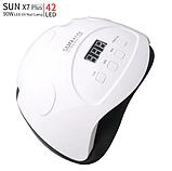Лампа для маникюра SUN X7 Plus 90W (white), фото 2