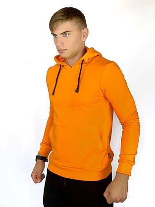 Худи Мужское Intruder 'Bars' оранжевое + Подарок, фото 2