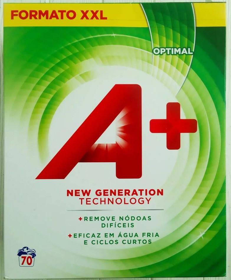 Універсальний пральний порошок A+ 4.2 кг (70 прань) Іспанія