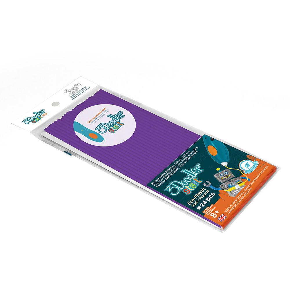 Стержни для 3D-ручки 3Doodler Start Фиолетовый
