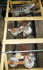 Изолятор ИОС 10-500 УХЛ1. Разъединители типа ИОС 10/500 УХЛ1. Опорно-стержневой фарфоровый изолятор ИОС 10/500, фото 2