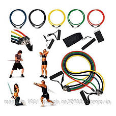 Набор эспандеров для упражнений Bends 5 шт., фото 2