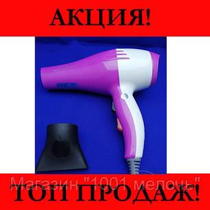 Фен для волос Gemei GM 1708 1300W, фото 2