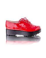 Красные туфли-криперы