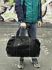 Черная кожаная сумка David Jones, фото 2
