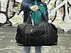 Черная кожаная сумка David Jones, фото 4