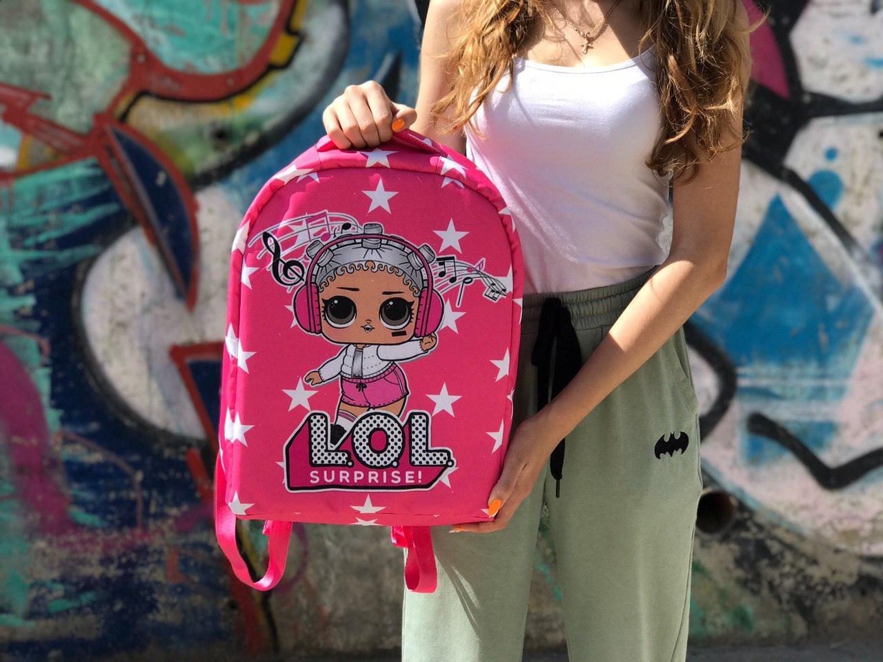 Шкільний рюкзак протикрадій LOL