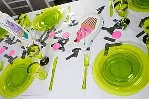 Ножі склопластик Capital For People зелені 200 мм 12 шт (DD-07)