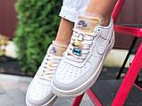 Женские кроссовки Nike Air Force белые, фото 2